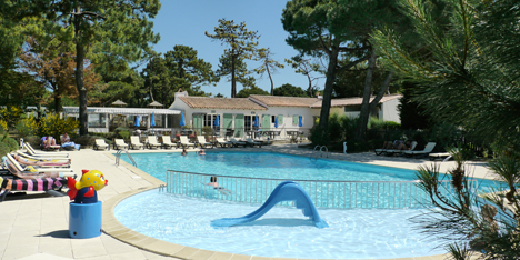 Campsite island of r rental mobile home island of r le for Camping de la piscine brittany
