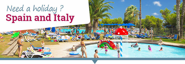 150€ off your holiday in Spain and Italy