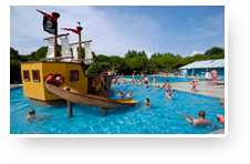 Holidays for your children, camping Le Ca'Savio, Cavallino Treporti, Venise, Italy