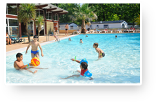 Holidays for your children, camping Le Punta Lago, Léon, Landes